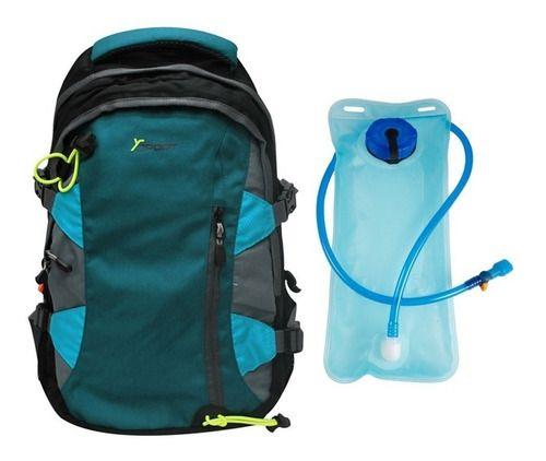 Mochila Esportiva com Bolsa de Hidratação Ysport - YS29013