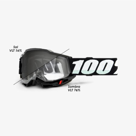 Óculos 100% Accuri 2 Woods Black
