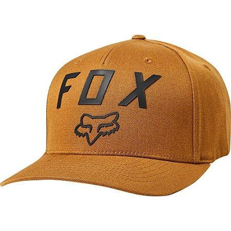 Boné Fox Number 2 Flexfit Bronze