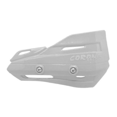 Plástico Reposição Protetor de Mão Rally Enduro Branco Corona Racing