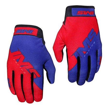 Luva IMS Extreme Azul/Vermelho