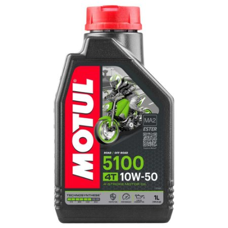 Óleo MOTUL 5100 10W50 4T 1L