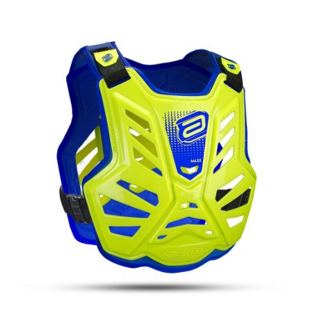Colete ASW Maxx Lite Amarelo Fluor Azul