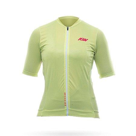 Camisa ASW Endurance Streak Feminina Menta Tam. G