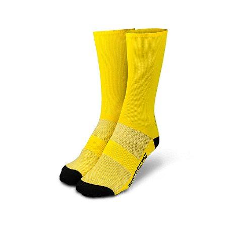 Meia ASW Blob 19 Amarelo / Preto Tam. Único