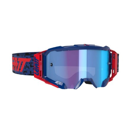Óculos Leatt Velocity 5.5 Iriz Azul / Vermelho