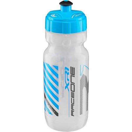 Garrafa Squeeze Caramanhola Raceone XR1 600ml - Gelo/Azul
