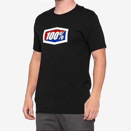Camiseta 100% Original Preto Tam. G