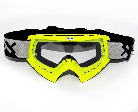 Óculos Mattos Racing Combat Amarelo Fluor