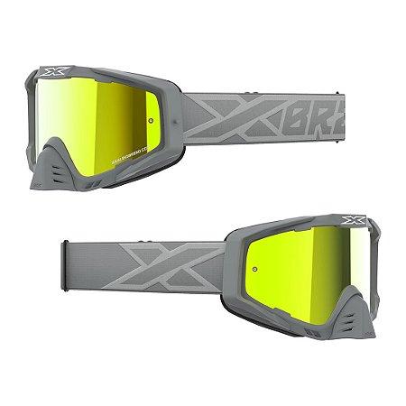 Óculos XBRAND EKS-S (S-SERIES) Espelhado Cinza