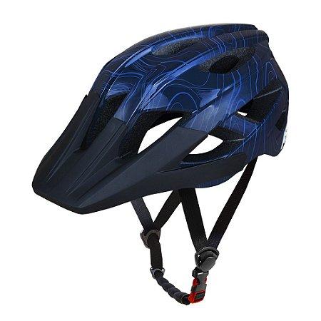 Capacete ASW Bike Accel Frontier Azul