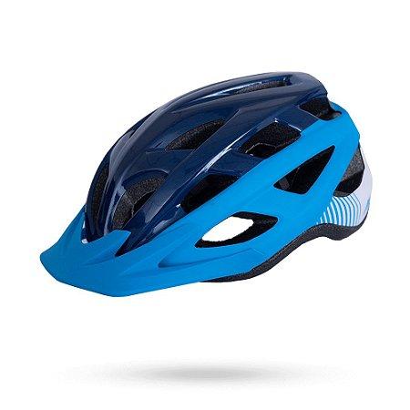 Capacete ASW Bike Fun Azul/Turquesa