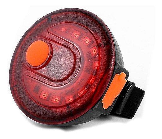 Lanterna de Bike Sinalizador Canote Estrobo CL-107