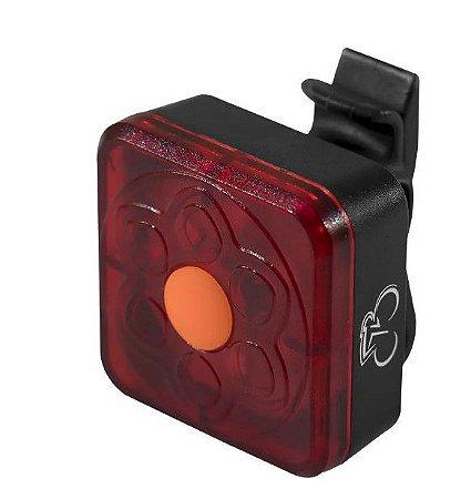 Lanterna de Bike Sinalizador Recarregável Canote Estrobo CL-106