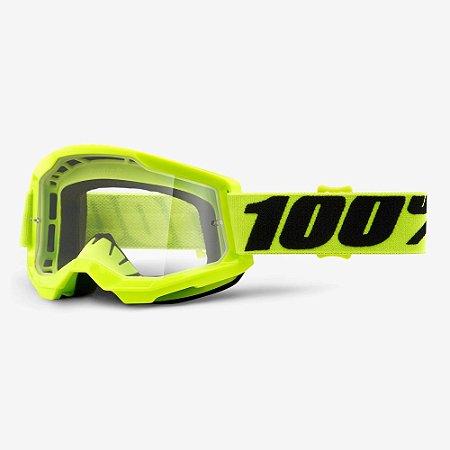 Óculos 100% Strata 2 Amarelo