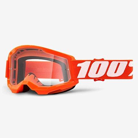 Óculos 100% Strata 2 Orange