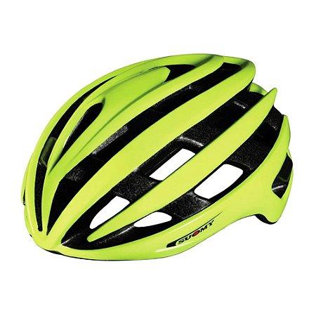 Capacete Suomy Vortex Bike Amarelo Fluorescente M