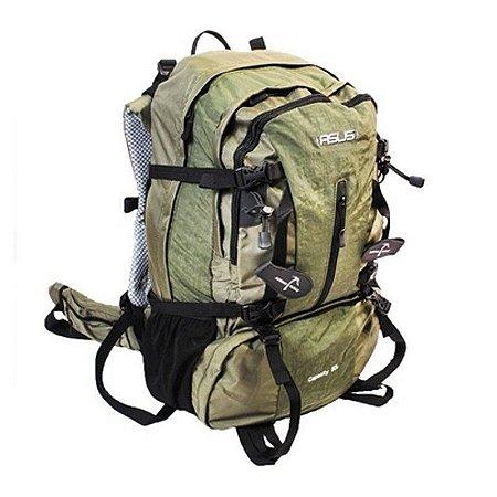 Mochila Camping 50 Litros Asus Clio Verde AS6422