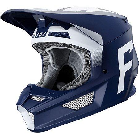 Capacete FOX V1 MVRS Weld Azul