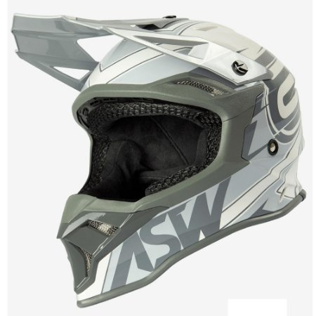 Capacete ASW Fusion 2.0 Blade Off White