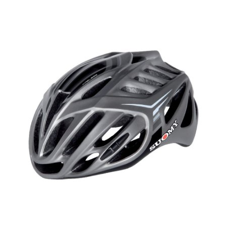 Capacete Bike Suomy Timeless Silver/Cinza