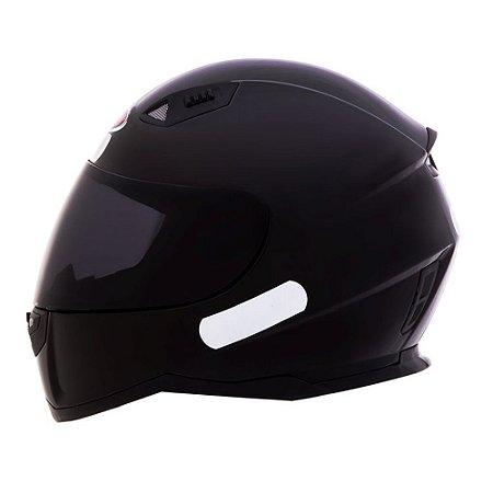 Capacete Moto Shiro Monocolor SH-881 Preto