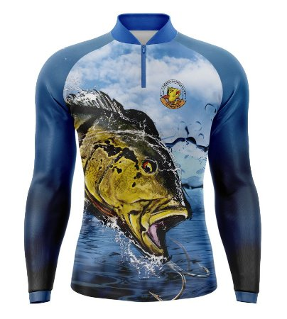 Camiseta de Pesca Tucunaré - 004