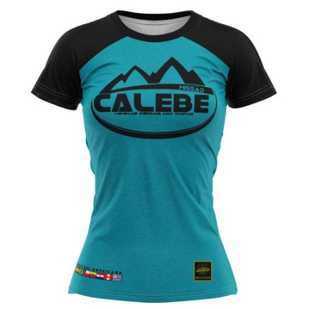 Camiseta feminina Calebe 2021