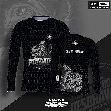 Camiseta de Pesca - Piranha 0001