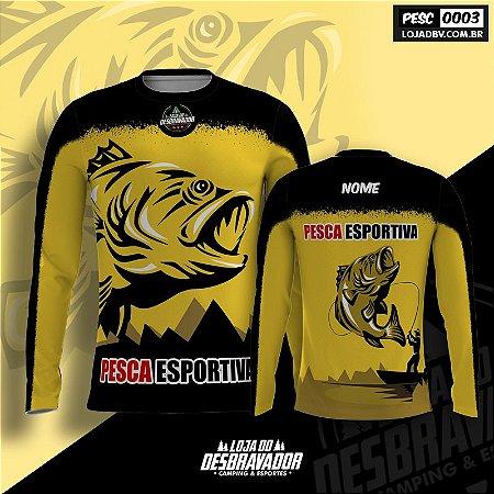 Camiseta de Pesca P03 - Pesca Esportiva