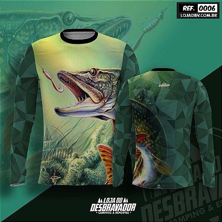 Camiseta de Pesca P06 - Cachorra