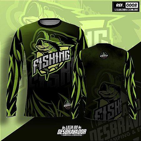 Camiseta de Pesca P08 - Fishing