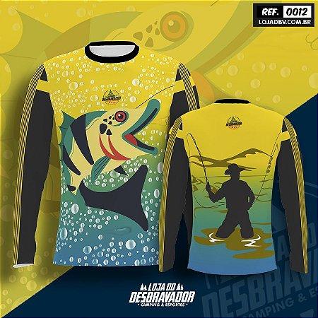 Camiseta de Pesca P12 - Pescador