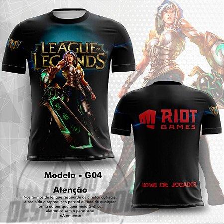 Camiseta Gamer - league of legends 0004