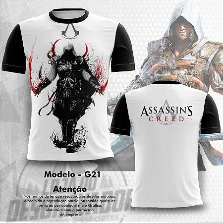 Camiseta Gamer - assassin's creed 0021