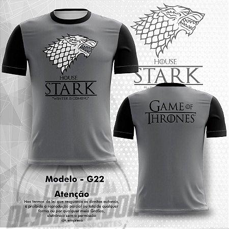 Camiseta Gamer - House Stark 0022