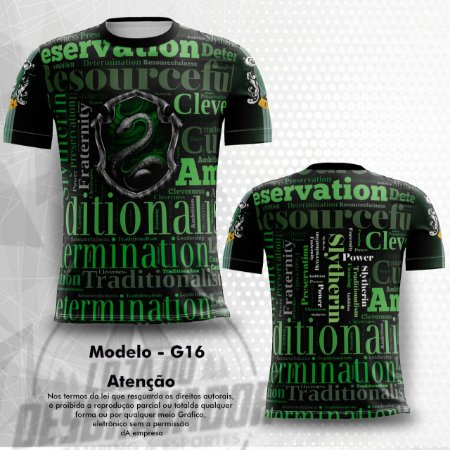 Camiseta Gamer - Sonserina 0016