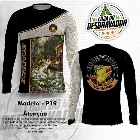 Camiseta de Pesca P19 - Lago Encantado