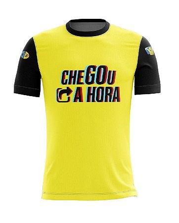 Camiseta Chegou a Hora - Yellow