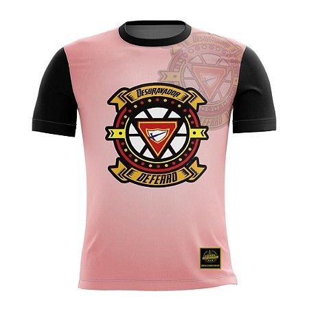 Camiseta Desbravador de Ferro - Rosa