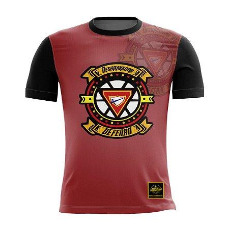 Camiseta Desbravador de Ferro - Vermelho