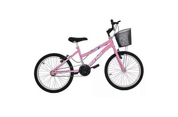 Bicicleta Aro 20  Wend Bike Feminina