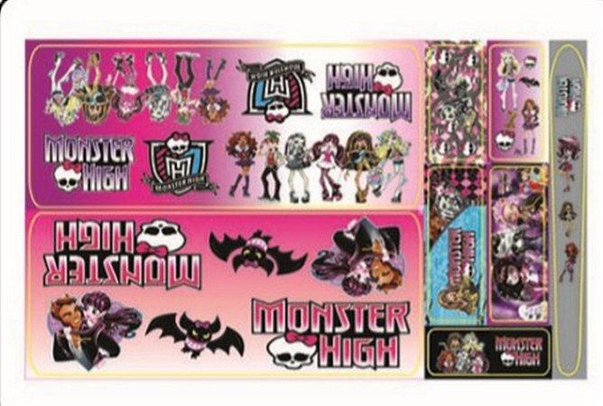 Adesivo Monster High