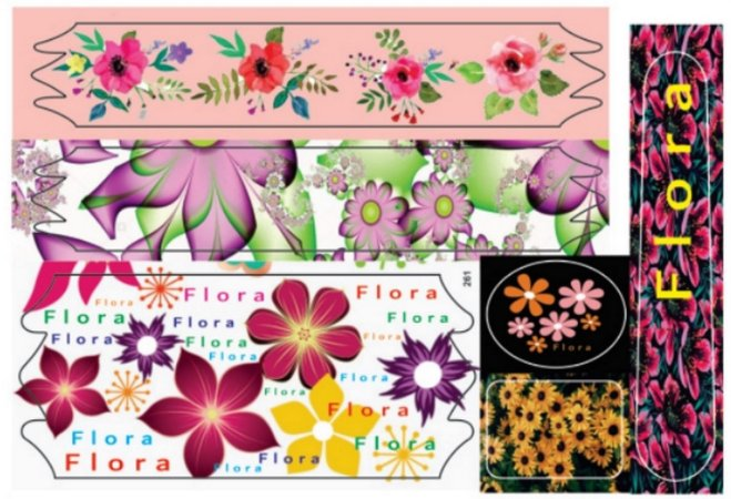 Adesivo Flora
