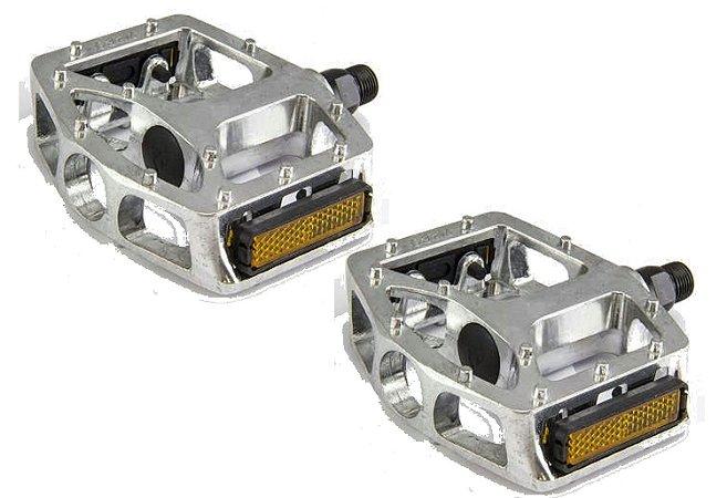 Pedal Plataforma Freestyle Rosca Grossa 9/16 em Alumínio