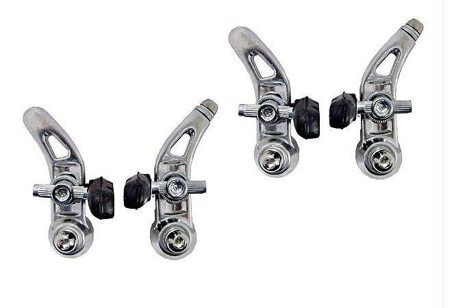 Freio Cantiléver Em Alumínio Polido Importado P/ Bicicletas