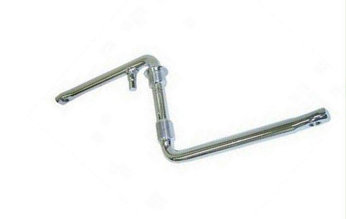 Pedi vela Monobloco 140mm (ARO 20) Manivela Para Bicicleta