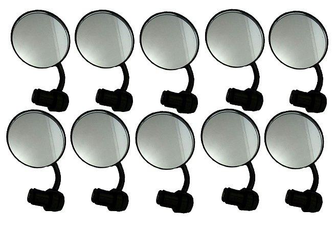 Kit 10 Unidades de Espelho Bar Ends 74mm