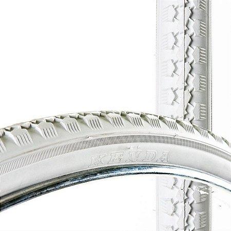 Pneu 28 X 1.1/2 Branco Kenda K146 Para Bicicletas Original