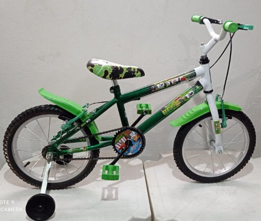 Bicicleta Aro 16 Wende Verde